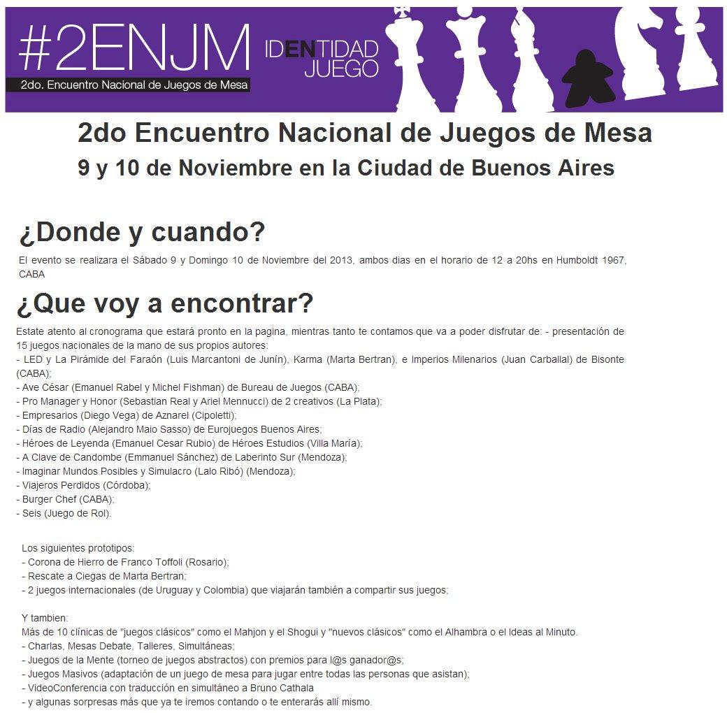 2do Encuentro Nacional De Juegos De Mesa Buenos Aires 2013 Aznarel